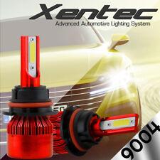 2X 120W 9004 HB1 LED Headlight Bulbs High Low Beams 12000LM Lights 6000K Lamps