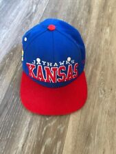 Kansas City Royals JAYHAWKS Adjustable Baseball Cap University Blue flat bill