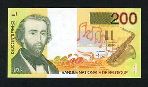 BELGIUM 200 FRANCS   ( 1995 )  PICK # 148  VF.