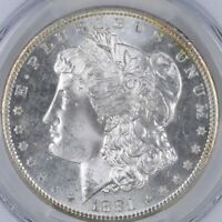 Uncirculated 1881-S Morgan Silver Dollar $1.00 San Francisco Minted BU/Unc