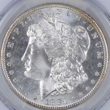 Uncirculated 1881-S Morgan Silver Dollar $1.00 San Francisco Minted BU/Unc