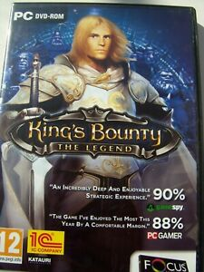 KING'S BOUNTY---THE LEGEND---REAL TIME ADVENTURE GAME---PC DVD---MINT