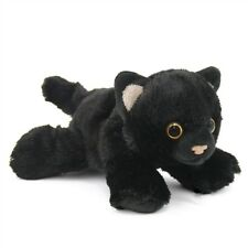 "HUG'EMS MINI BLACK CAT PLUSH SOFT TOY 7"" STUFFED ANIMAL BY WILD REPUBLIC - BNWT"