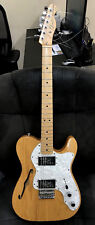 Fender 72 Telecaster Thinline Semi-Hollow Guitar Made in Mexico w/Hard Case