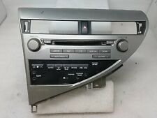 10 11 Lexus RX450 Radio 6CD Changer Satellite Climate AC Heat Control OEM
