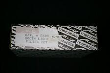 Metz flash filter set for 60CT-4 metz 5405 metz 60-29 new 4 filters & case