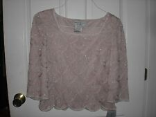 Adrianna Papell Occasions Blush Top size 6 NEW!