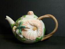 1987 Fitz & Floyd Hummingbird 48 oz Tea Pot