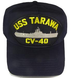 USS TARAWA CV-40 HAT CAP USN NAVY SHIP ESSEX CLASS AIRCRAFT CARRIER
