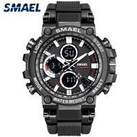 SMAEL Men's Sport Anti-Shock Digital Calendar Military Analog Quartz Wrist Watch