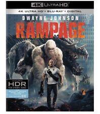 RAMPAGE 4K UHD/Blu-ray + Digital HD NEW! #Rampage #DwayneJohnson #Fantasy #SciFi