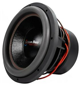 """AmericanBass HD-10 D2 10"""" Competition Sub Dual 2 Ohm AUTHORIZED DISTRIBUTOR!!"""