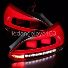 For VOLKSWAGEN Scirocco LED Strip Tail Lights Rear Lamps 2009 to 2013 Year Red