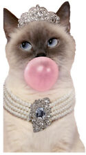 Avanti Fancy Bubble Gum Cat Big Funny Oversized Funny Birthday Card