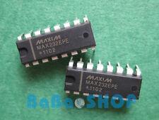 4pcs Brand New MAX232EPE MAX232 232 RS-232 Drivers/Receivers Maxim DIP-16