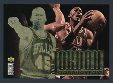 1995-96 Collectors Choice Michael Jordan The Jordan Collection #JC4 Bulls
