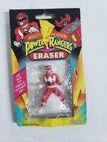 Vintage Unopened Mighty Morphin Power Rangers Eraser Red Ranger Jason Mmpr...