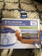Wax Warmer Heater Pot Machine + 400g Waxing Beans + 20pcs Hair Removal Sticks