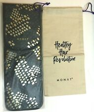 MONAT Hair Travel Case Straightener Bag Flat Iron Heat Protection Shield & Bag