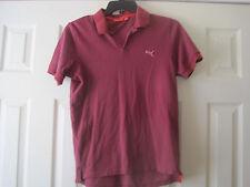 $~Puma Polo Shirt~Cranberry~Size M~LBDEL