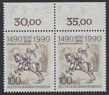 Berlin aus 1990 ** postfrisch MiNr. 860 - 500 Jahre Post! Bogenzähler!