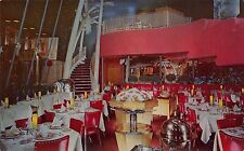 TX - 1950's Interior Sirloin Room at Town & Country Restaurant in Dallas, Texas