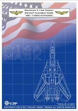 GALAXY MODEL D48004  1/48 F-14A Tomcat Die-cut Flexible Mask for Tamiya 61114