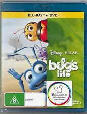 A Bug's Life Blu Ray/Dvd New 2-Disc Set Region B/4 Free Post