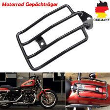 Motorrad Gepäckträger Schwarz Für Harley Sportster XL 883 1200 Solositz 2004-17