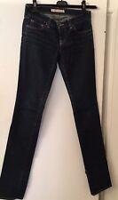 """J Brand  # 511 Size 25 Jeans Slim Skinny Leg Dark Blue Tall Inseam 34"""" $290"""