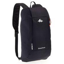 Quechua Hiking Water Repellent Mini Backpack Rucksack Arpenaz 10L (Black)