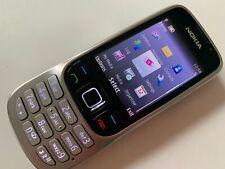 Nokia Classic 6303 - Steel (Unlocked) Basic. Button Mobile Phone