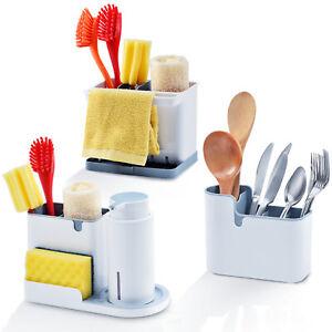 Kingrack Sink Tidy Caddy Organiser Series Kitchen Washing Up Storage Basket Rack