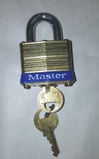 Case Master Lock #4 A417 Nib