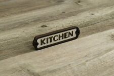 Kitchen Door Sign, Plaque, Vintage Style, Railway, Retro,
