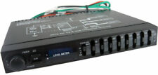 SX AUDIO CAR AUDIO PASSIVE EQUALIZER 1/2 Din 7 BAND PRE AMP EQ SUB CROSSOVER