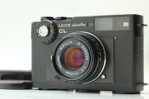 【EXC+5 w/ Strap】 Leitz Minolta CL Rangefinder + M-Rokkor 40mm f2 Lens from JAPAN