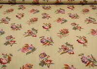 Jay Yang – Pirouette/Parchment | Floral Print | Crisp Cotton Poplin Fabric