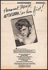 MAXWELL CAULFIELD / After Dark Magazine promo__Original 1981 Trade AD / poster