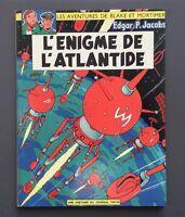 Les aventures de Blake et Mortimer. L'énigme de L'Atlantide. Lombard 1967