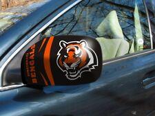 Licensed Nfl Cincinnati Bengals Car Mirror Covers (2-Pack) - Cars/Small Suv's