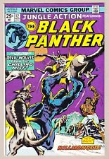 Jungle Action #12 Black Panther Killmonger Map of Wakanda Value Stamp Intact