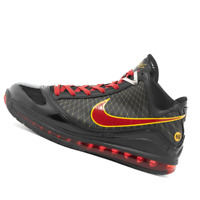 NIKE MENS Shoes LeBron 7 - Black & Varsity Red - CU5646-001