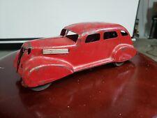 RARE VINTAGE Wyandotte Marx Pressed Steel Coupe Original Tin Toy Lot