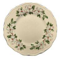 4 Syracuse Dogwood Bread Plates Small Scalloped Vintage Restaurant China USA