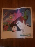 Vintage Disneyland 1969 Grad Nite Program featuring The Righteous Brothers