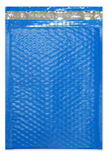 "Blue Colored Bubble Mailers #5 - 10.5"" x 15.25"" - 100 EA"