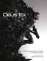 Art of Deus Ex Universe, Hardcover by Spector, Warren (FRW); Jacques-Belletet...