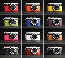 Real Leather half Camera Case bag Cover for Leica X-E Typ 102 X2 X1 10 colors