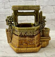Vintage McCoy Pottery Wishing Well Planter Made In USA
